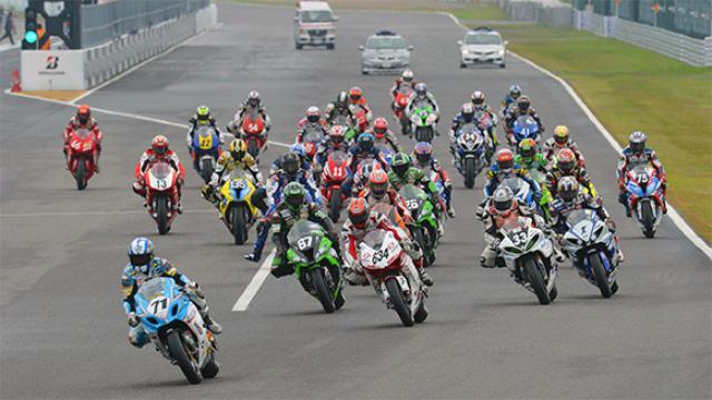 画像: 全日本ロードレース選手権シリーズ第 5 戦 スポーツランド SUGO