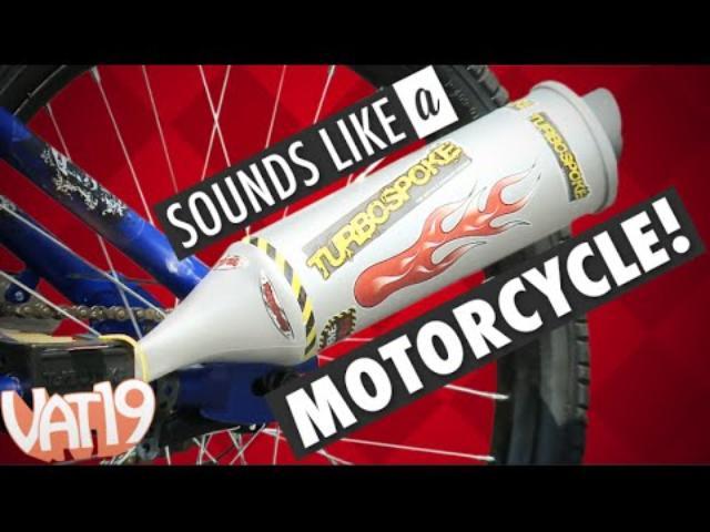 画像: Transform your bicycle into a motorcycle! youtu.be