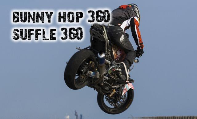 画像: Bunny hop 360 & Shuffle 360 [Stunt riding 360 Tricks] Stoppie 360 Kangaroo stoppie 小川裕之 www.youtube.com