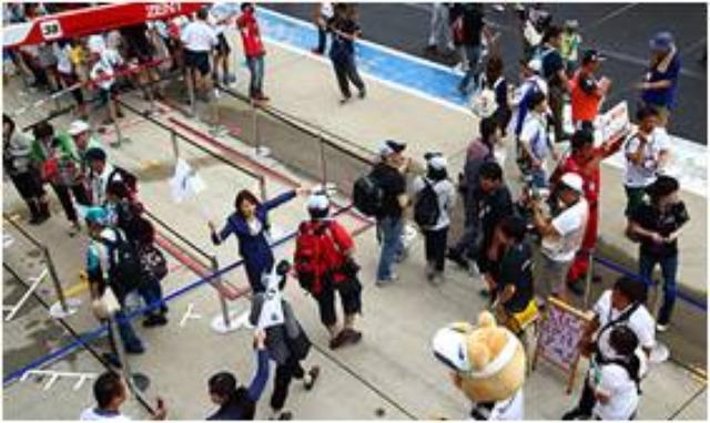 画像: 4.ピットウォーク 特別ルートでピットウォークにご案内します。 間近に見るマシンの迫力など、レース現場の雰囲気をお楽しみください。 prtimes.jp