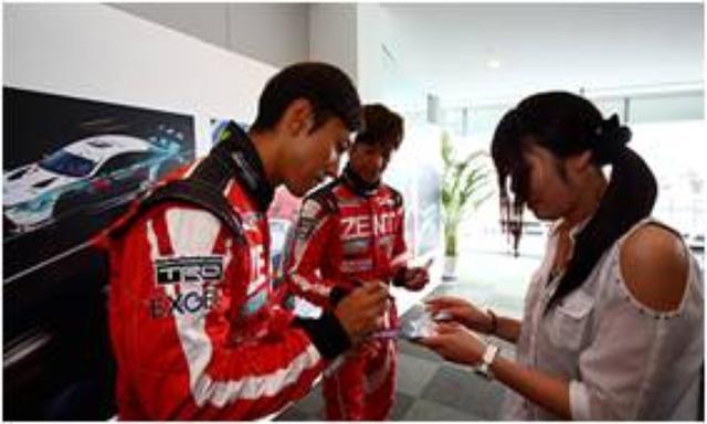 画像: 3.ドライバーとの交流 LEXUS TEAM ドライバーの決勝に向けた意欲を直にインタビュー。ドライバーたちの素顔に触れられる特別な瞬間です。 ※写真はイメージです prtimes.jp