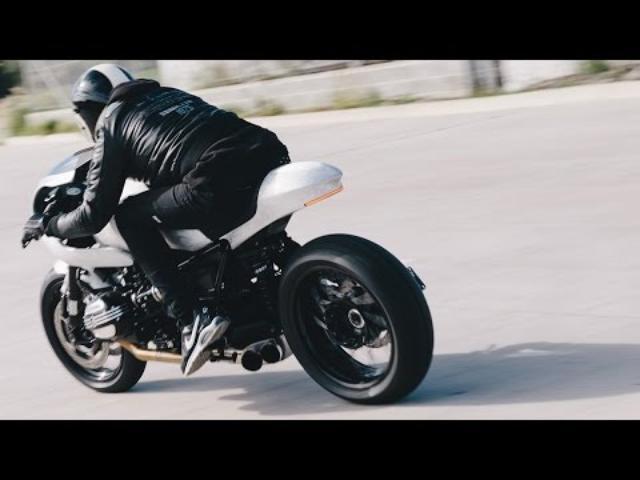 画像: BMW R NineT Cafe Racer by Gasoline Motor Co. www.youtube.com