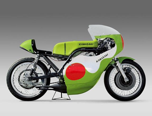 画像: 常に挑戦し続ける、カワサキ。その証である、誇り高きライムグリーンのマシン達。【1969~ H1R】 - LAWRENCE - Motorcycle x Cars + α = Your Life.