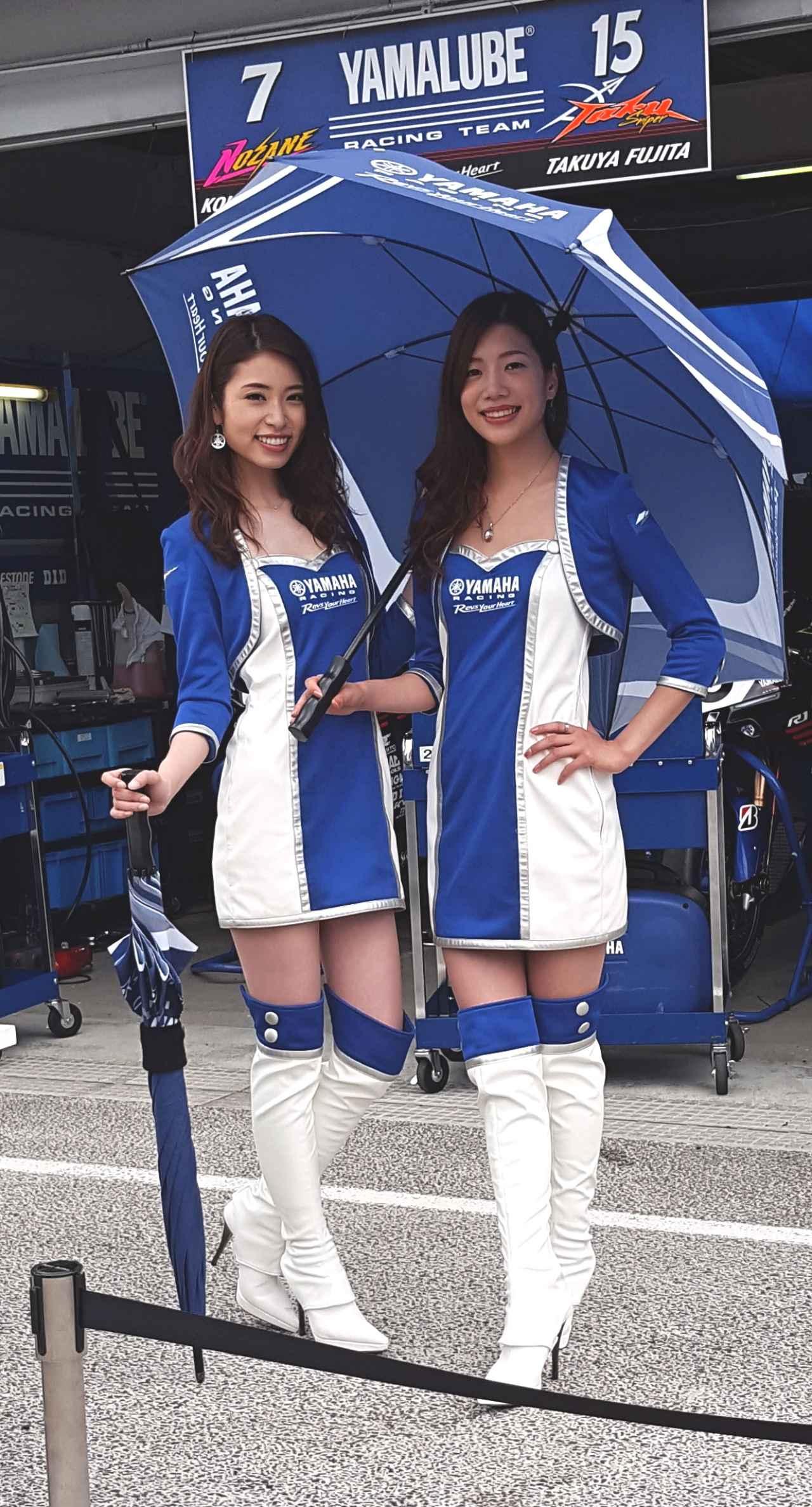 画像7: 【綺麗なお姉さんは好きですか?】 各チームのRQからチームを知ろう!!! 2016年 MFJ全日本ロードレース選手権Rd.5@スポーツランドSUGO vol.3