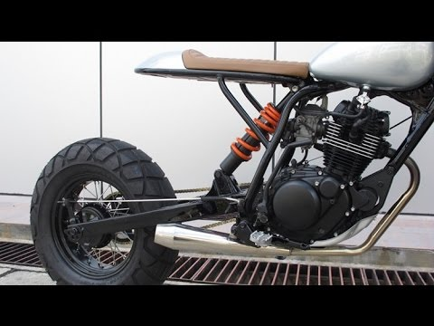 画像: Custom Yamaha TW200 by Sean SpeedShop www.youtube.com