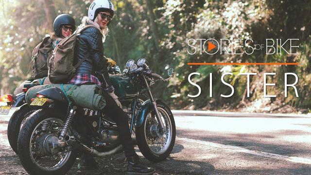 画像: Stories of Bike | Sister (A '94 Yamaha SRV250 Story) www.youtube.com