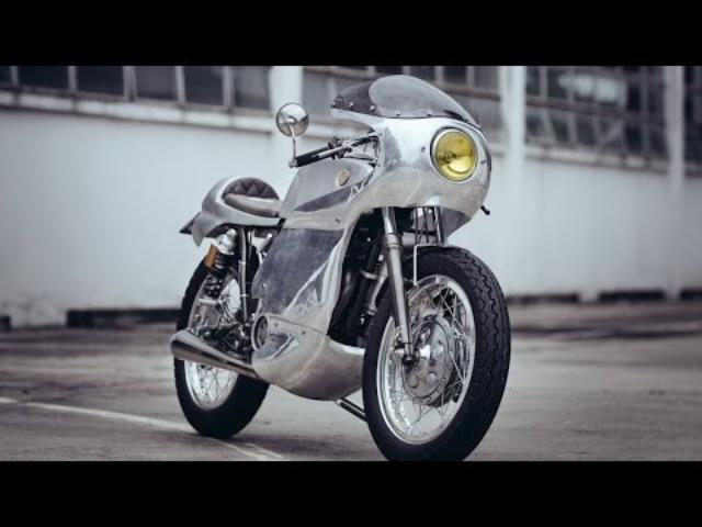 画像: Custom Yamaha SR400 by Omega Racer www.youtube.com