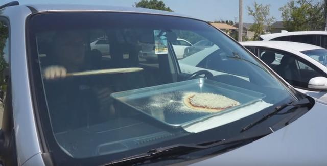画像: 【動画】夏の車内の暑さを利用して…
