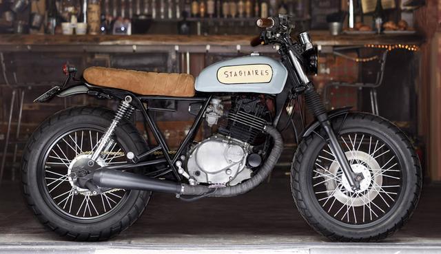 画像: バイクの方もなかなかの出来っす!