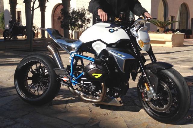 画像: BMW R1200R Concept Roadster exhaust sound www.youtube.com