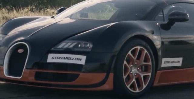 """画像4: 【動画】""""強者たちの戦い""""加速が速いのはブガッティ・ヴェイロン ?BMWS1000RR?"""