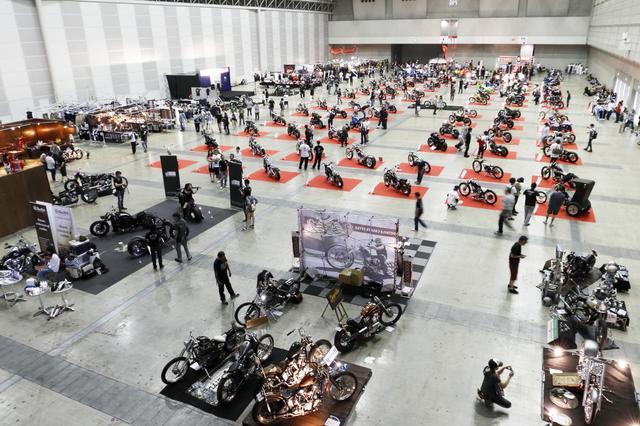画像1: 新しいカスタムショーの誕生 1st Annual BAY AREA Chopper&Custom Bike Show report