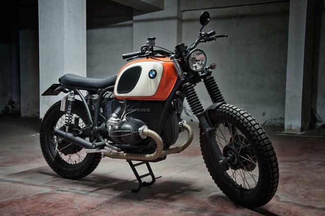 画像: Custom BMW R75/6 by Motorecyclos www.youtube.com