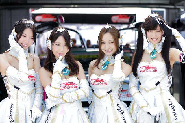 画像1: 【綺麗なお姉さんは好きですか?】 各チームのRQからチームを知ろう!!! 2016年 MFJ全日本ロードレース選手権Rd.5@スポーツランドSUGO vol.5