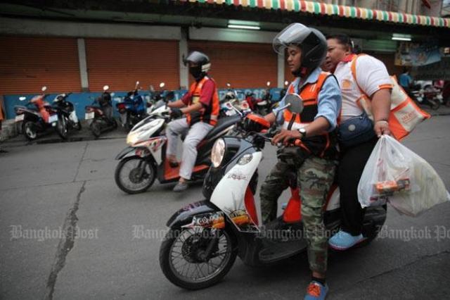 画像: New legal motorcycle app launched in Bangkok