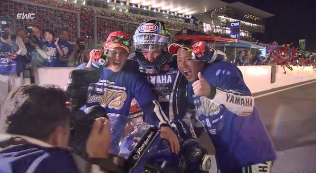 画像: 2016 Suzuka 8 Hours - Finish of the race FIM EWC youtu.be