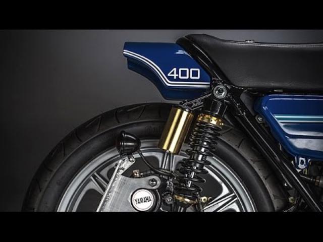 画像: Custom Yamaha RD400 by MotoRelic www.youtube.com