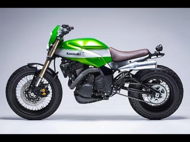 画像: Custom 2016 Kawasaki Ninja 650 by Smoked Garage www.youtube.com