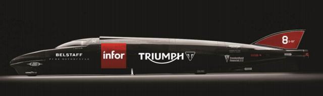 画像1: トライアンフは世界最高速度樹立に向けて新たなる発進をします!!!