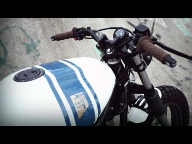 画像: Custom Yamaha XJ600 by Wrench Kings www.youtube.com