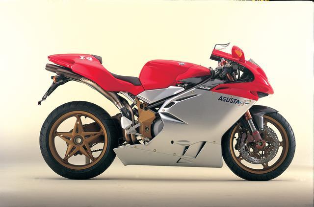 画像: 天才マッシモ・タンブリーニの作であるMVアグスタF4の限定モデル、セリエ オロ。直訳すると黄金シリーズ(笑)。このF4以降も、MVは幾つかのモデルにセリエ オロ版を用意しています。 moto.zombdrive.com