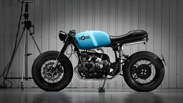 画像: Custom BMW R100R Cafe Racer by Sinroja Motorcycles www.youtube.com