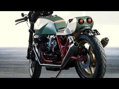 画像: Moto Guzzi Mille GT Custom by Redonda Motors www.youtube.com