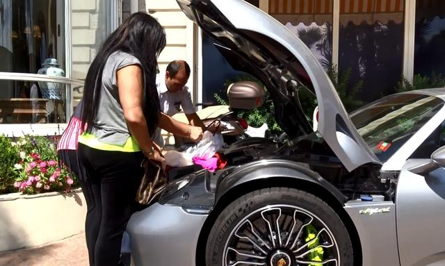 画像: Problems to bring a bag in the Porsche 918 Spyder !! youtu.be