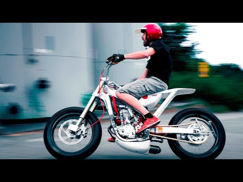 画像: Custom Honda CRF450 Street Tracker by Marcus MotoDesign www.youtube.com