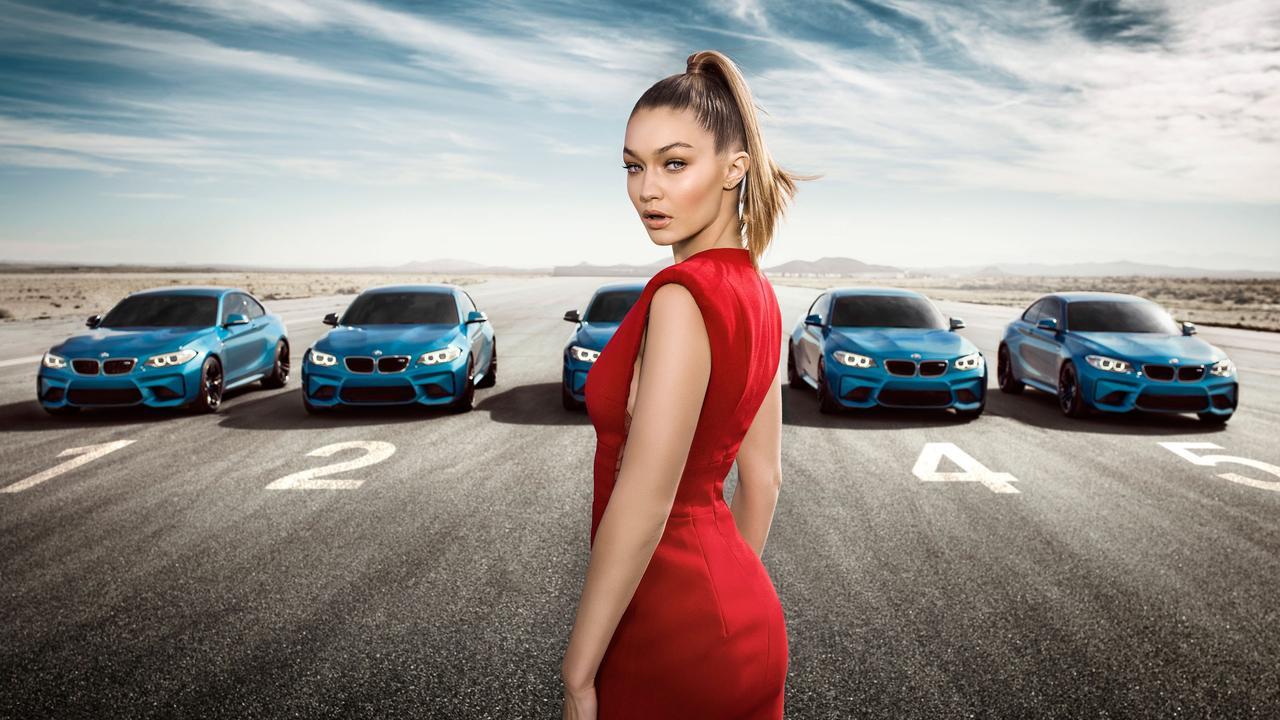 画像: THE BMW M2 – EYES ON GIGI HADID www.youtube.com