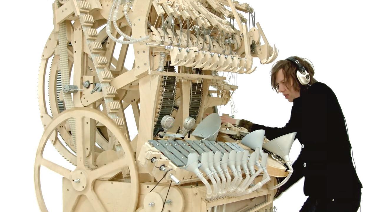 画像: Wintergatan - Marble Machine (music instrument using 2000 marbles) youtu.be