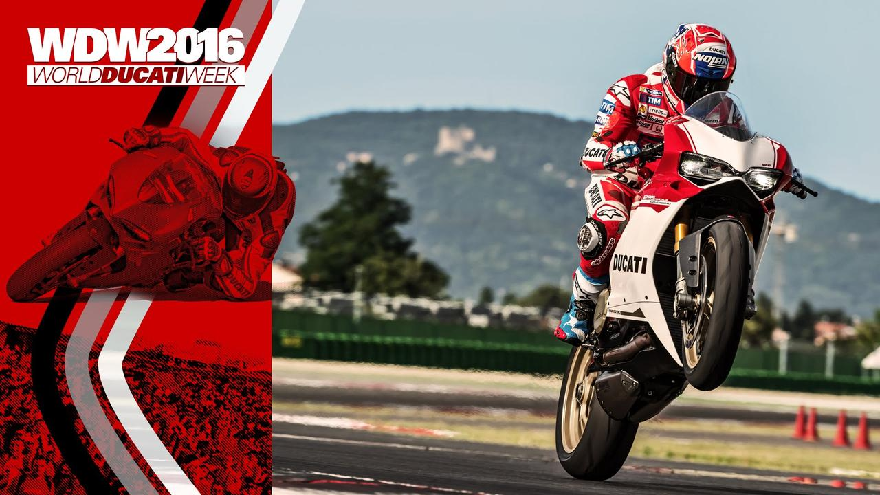 画像: WDW2016 - Casey Stoner rides the new Ducati 1299 Panigale S Anniversario www.youtube.com
