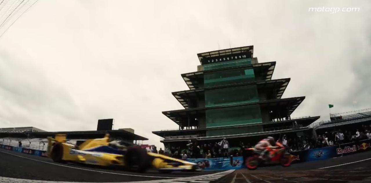 画像6: 【動画】MotoGPvsインディカーが夢の競演!競争すると、どちらが先にゴールするでしょうか?