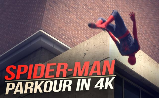 画像: The Amazing Spider-Man Parkour youtu.be