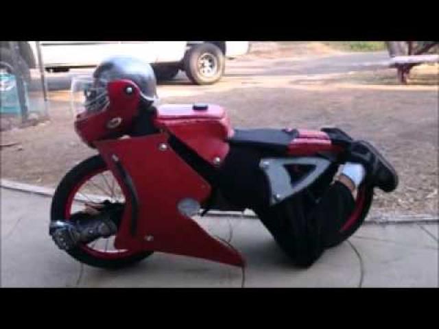"""画像: Homemade motorcycle """"transformer"""" costume youtu.be"""