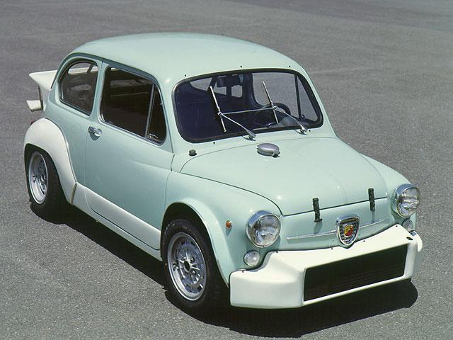 画像: アバルト フィアット1000TCRベルリーナ・コルサ 1968年01月~1971年01月