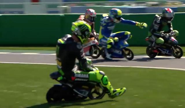 画像3: 【動画】MotoGPライダーたちが、ミニバイクでガチバトル!