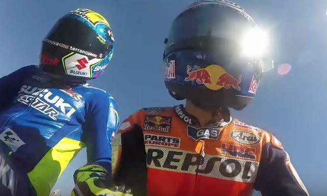 画像2: 【動画】MotoGPライダーたちが、ミニバイクでガチバトル!