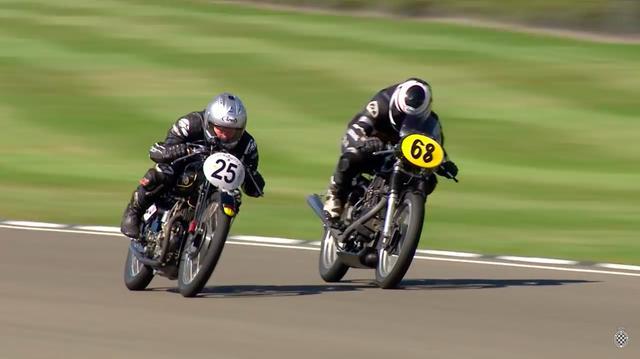 画像: #25はメッチャ速い、ラッジのOHV4バルブ単気筒。土曜日のレースウィナーでした。 www.youtube.com