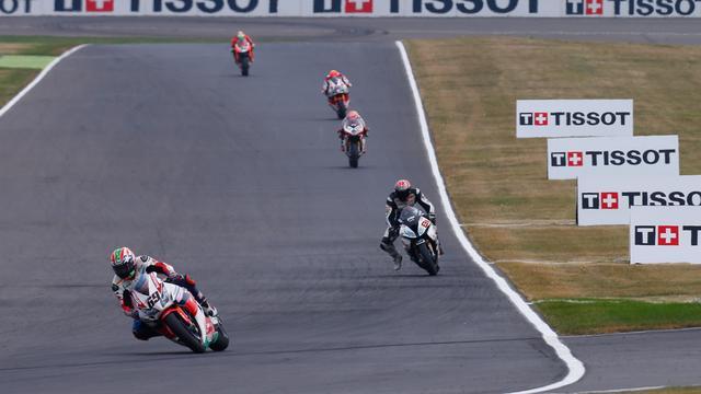 画像: 予選、レース1ともに3位という結果のN.ヘイデン(ホンダ、#3)。 www.worldsbk.com