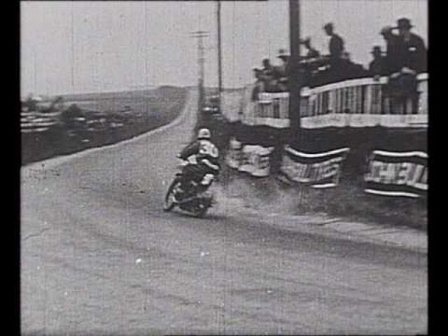 画像: Vintage Road Racing - 1929 Isle of Man TT Races youtu.be