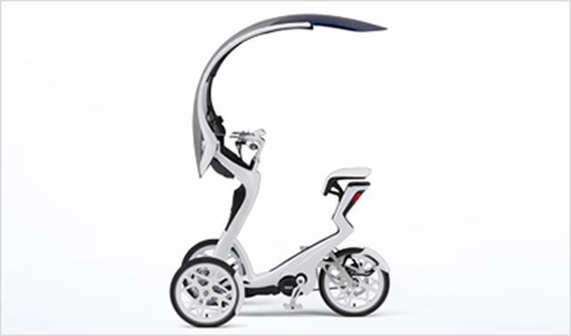 画像: 05GEN 体を優しくくるむ「衣」を発想の元に、ちょっとしたおでかけに最適な形を提案する、電動アシスト技術を搭載した3輪モビリティのコンセプトモデル。 global.yamaha-motor.com