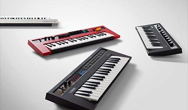 画像: シンセサイザー / reface 好評を博してきた当社のシンセサイザーやキーボードを現代風にアレンジし、本格的な演奏性とコンパクトな筐体を両立させた新たなキーボード。 global.yamaha-motor.com