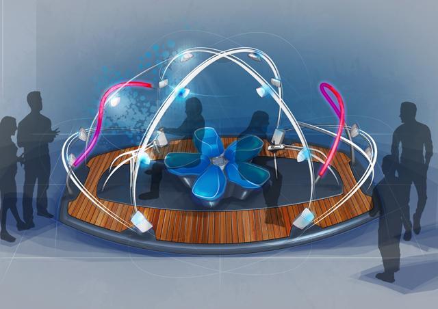 画像: 乗り物を体感できる音響装置「&Y02」