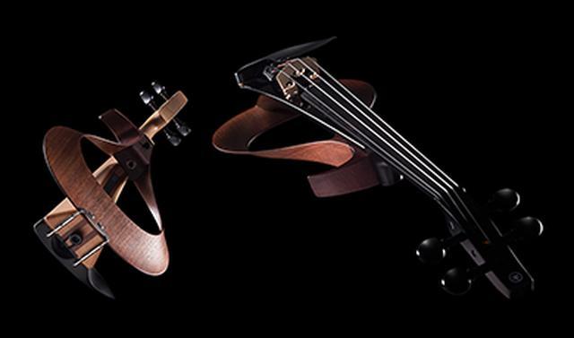 画像: エレクトリックバイオリン / YEV 斬新で美しいデザインとステージユースにふさわしい優れた性能を兼ね備えた、パフォーマンスのための新世代のエレクトリックバイオリン。 global.yamaha-motor.com