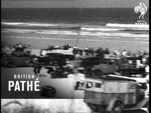 画像: Motorcycle Race On Sands (1939) youtu.be