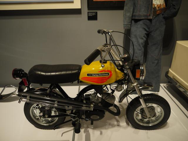 画像: MC-65(1972) モンキーではありません。純ハーレーダビッドソン/アメリカ産です。まさかの2サイクルエンジンです。