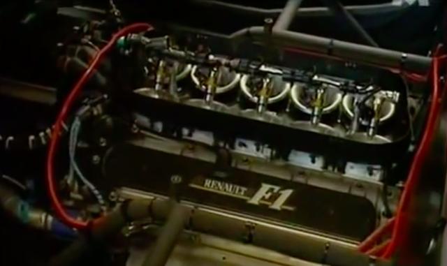 画像: 搭載されるのはルノーRS4エンジン。V型10気筒3,500ccで最高出力は760馬力! www.youtube.com