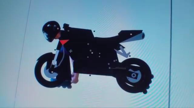 画像: ディスプレーに表示されたデザイン案。お遊びのプロジェクトでも、マジメに設計しています。 www.youtube.com