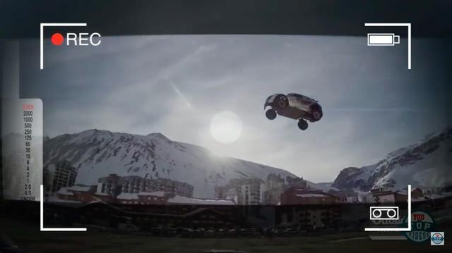 画像: 太陽をバックにぴょ〜んと飛んでいます・・・。 www.youtube.com
